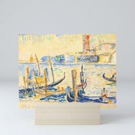 """Paul Signac """"View of Venice"""" Mini Art Print"""
