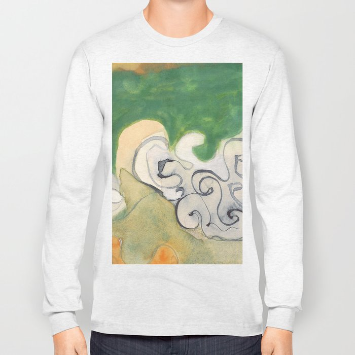 She Can't Make Up Her Mind Long Sleeve T-shirt