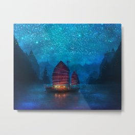 Our Secret Harbor Metal Print