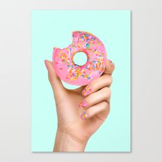 SPRINKLE POLISH Canvas Print