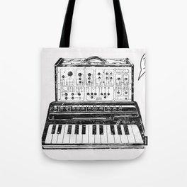 Keyboard.  Tote Bag