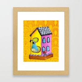 Quail Framed Art Print