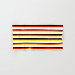 Mariniere and Flag - Germany Hand & Bath Towel