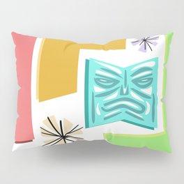 Post Modern Tiki Pattern Pillow Sham