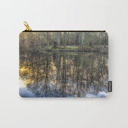 A Pond Of Refections Carry-All Pouch