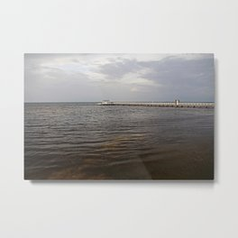 Bokeelia Before the Storm Metal Print