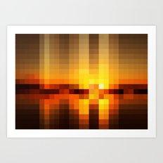 Nature Pixels No. 19 Art Print
