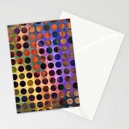 MELANGE of VIOLET and RUST Stationery Cards