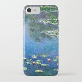 Monet Waterlilies iPhone Case