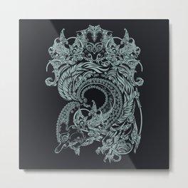 wayangan tnic art Metal Print