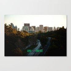 Downtown San Diego Skyline Canvas Print