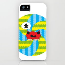 Star Spiral iPhone Case