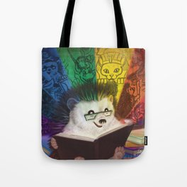 A Spectrum of Stories Tote Bag