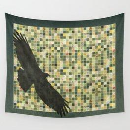 Soaring Hawk Wall Tapestry