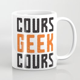 Cours Geek Cours - Logo Coffee Mug