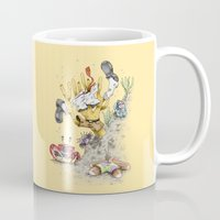 spongebob Mugs featuring Real Life SpongeBob by onez