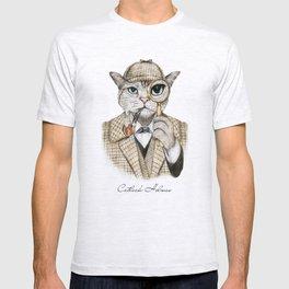 Catlock Holmes T-shirt