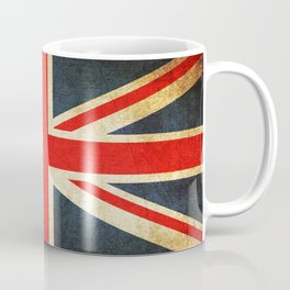 Vintage Union Jack British Flag Coffee Mug