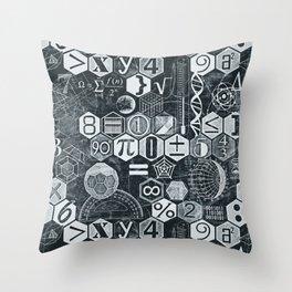 Math Class Throw Pillow