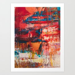 Abstract Creation Art Print