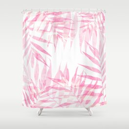 Pink Tropicana Shower Curtain