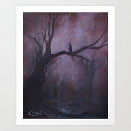 Free and Alone Art Print