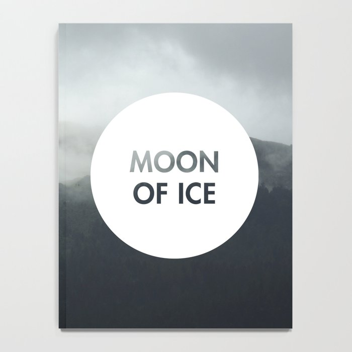 Moon of Ice (Celtic) Notebook