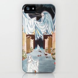 Playing the beyond iPhone Case