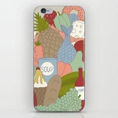 FOOD iPhone & iPod Skin