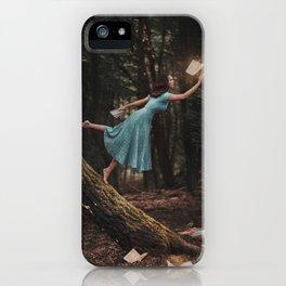 Enchanted Books iPhone Case