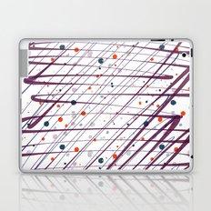 Maroon Splatter Pattern Laptop & iPad Skin