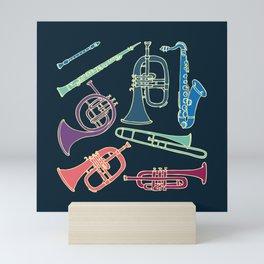 Wind instruments Mini Art Print