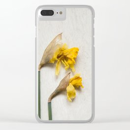 Daffodil 2 Clear iPhone Case