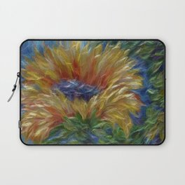 Sunflower Painting Laptop Sleeve