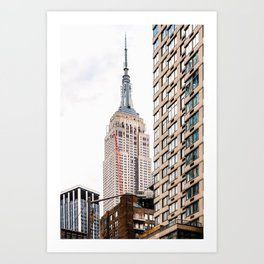 Empire State Building in New York Art Print