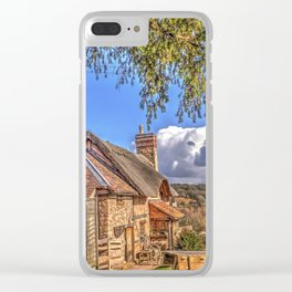 The Live & Let Live 16th Century Pub Clear iPhone Case