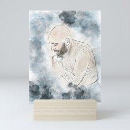 The Shameless Man Mini Art Print