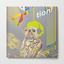 Abstractionist – Revolution Metal Print