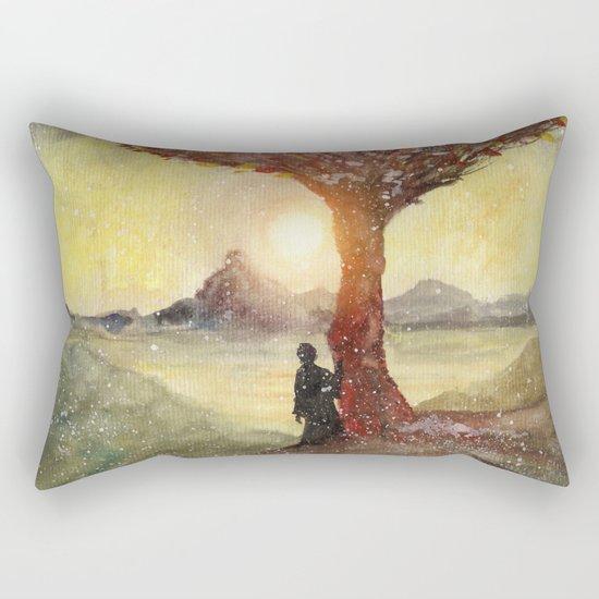 Track 27: Sunset and Dreams Rectangular Pillow
