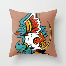 Eagle Sunset Throw Pillow