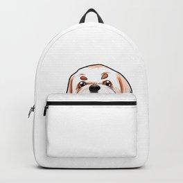 Shih Tzu Dog Puppy Doggie Backpack