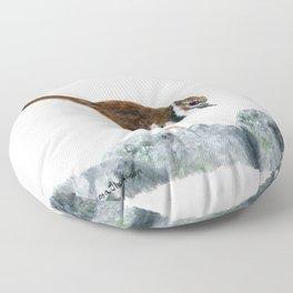 Killdeer Art 2 by Teresa Thompson Floor Pillow
