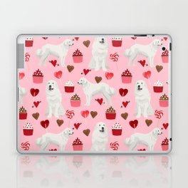 Great Pyrenees dog breed valentines day gifts for dog lover unique dog breeds valentine Laptop & iPad Skin
