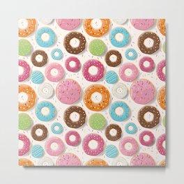 Mmmm Donuts Metal Print