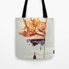 THROUGH THE NIGHT Tote Bag