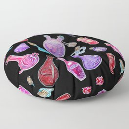 Witchcraft: Witches Potions Floor Pillow