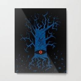 All-seeing tree 2 night Metal Print