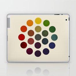 'Parsons' Spectrum Color Chart' 1912, Remake 2 (enhanced) Laptop & iPad Skin