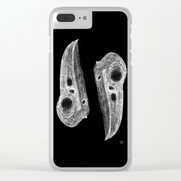 Raven's Call Clear iPhone Case