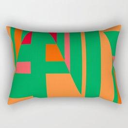 motif sapin Rectangular Pillow